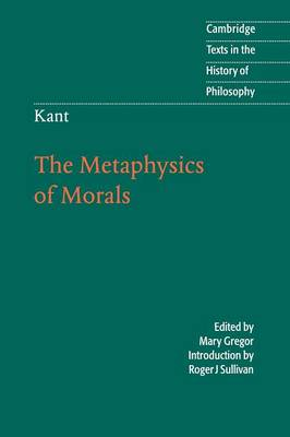 immanuel kant foundations of the metaphysics of morals thesis The foundations of the metaphysics of morals or groundwork of the metaphysics of morals (grundlegung zur metaphysik der sitten), immanuel kant's 1st contribution to.
