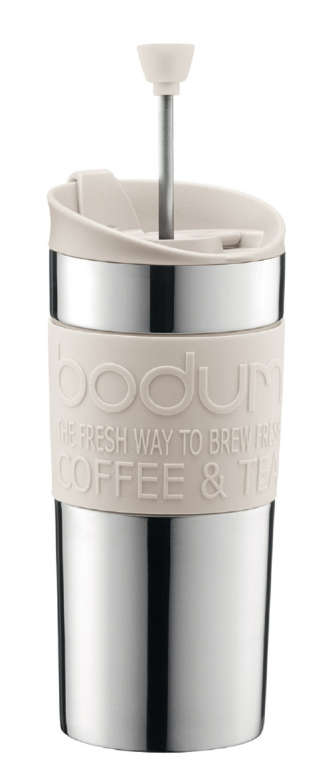 Bodum Travel Press hvit -