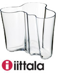 Aalto vase klar 160 mm - Designor AS