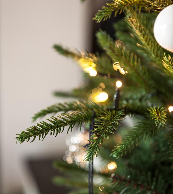 Topp Juletre 120 cm med 100 LED lys - Leve Interiør » Bokklubben @LR-24