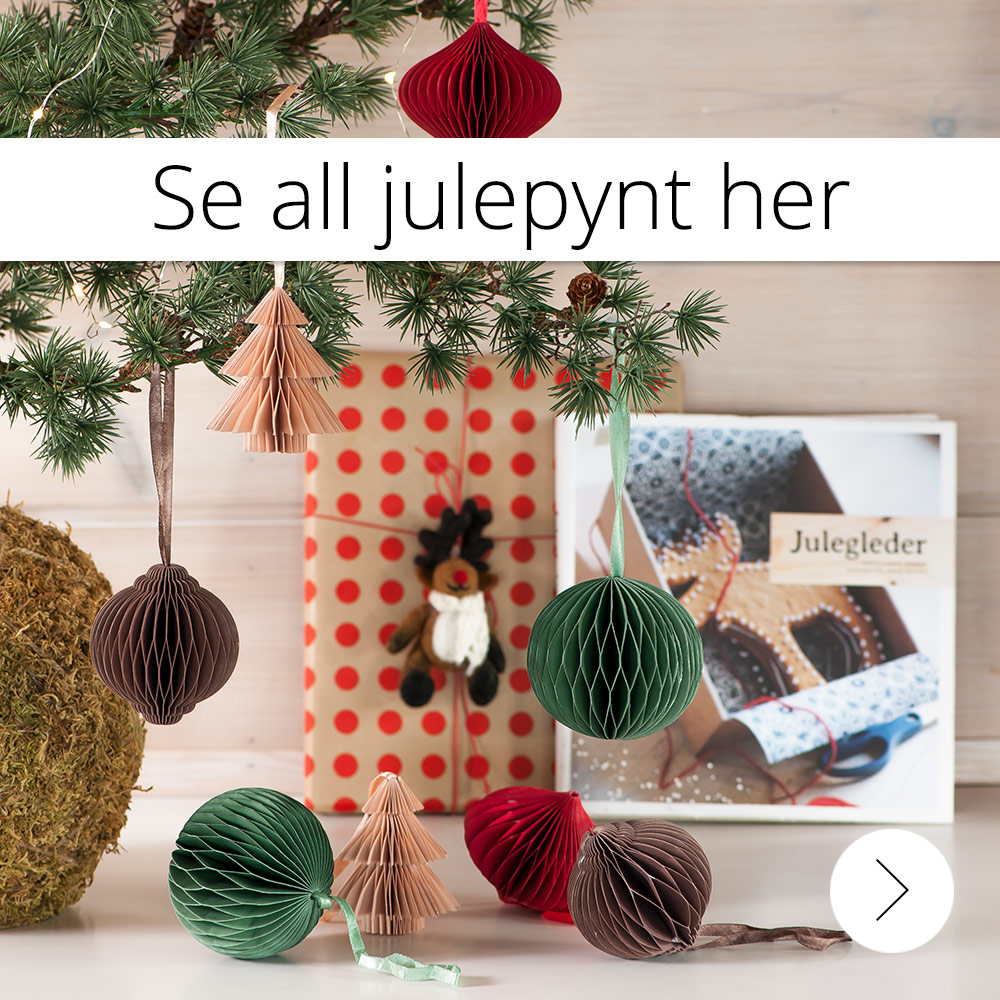 Se all julepynt her