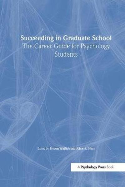 Succeeding in Graduate School - Steven Walfish