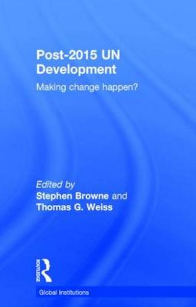 Post-2015 UN Development - Stephen Browne