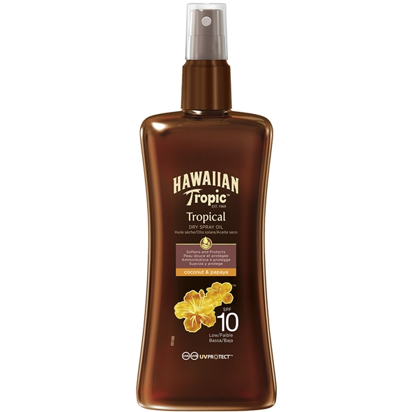 Protective Dry Spray Oil Spf 10 - Hawaiian Tropic