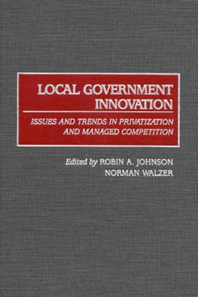 Local Government Innovation - Robin A. Johnson