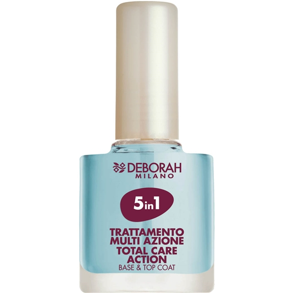 5 in 1 Total Care Action - Base & Top Coat - Deborah Milano