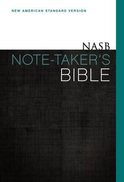 NASB, Note-Taker's Bible, Hardcover, Red Letter Edition - Zondervan Publishing
