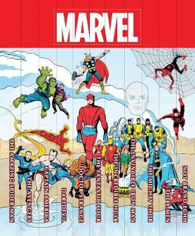 Marvel Famous Firsts: 75th Anniversary Masterworks Slipcase Set - Wally Wood