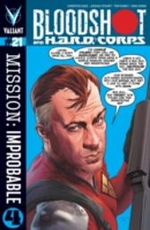 Bloodshot and H.A.R.D. Corps Issue 21 - Christos Gage Joshua Dysart Tom Raney
