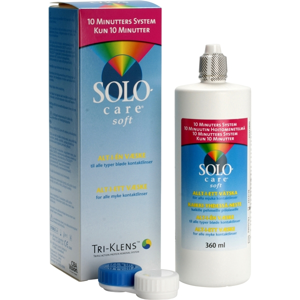 SoloCare Soft 360ml - Menicon