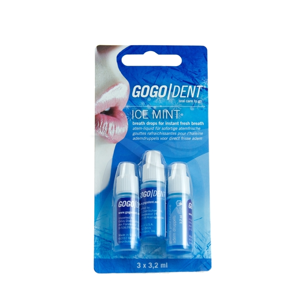 GogoDent Ice Mint Drops - GogoDent