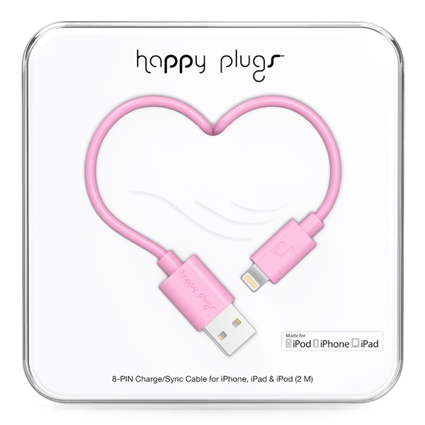 Happy Plugs Lightning Charge/Sync Cable - Happy Plugs