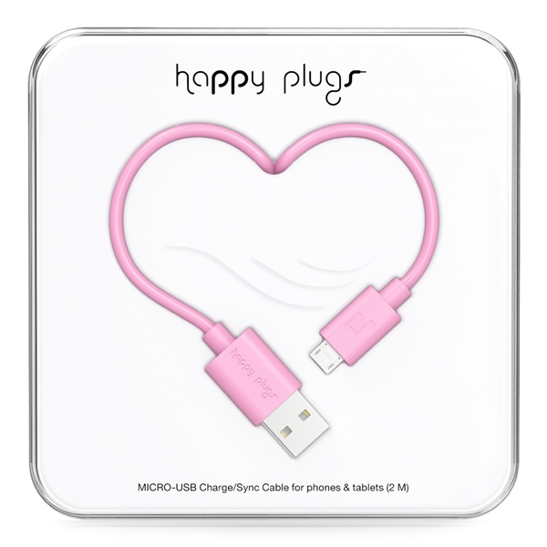 Happy Plugs Micro USB Charge/Sync Cable - Happy Plugs
