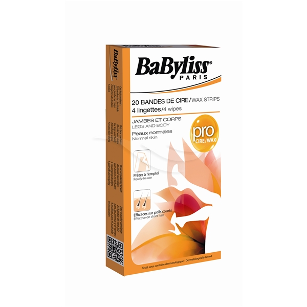 BaByliss Wax Strips - Normal Skin - BaByliss