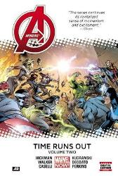 Avengers: Time Runs Out Volume 2 - Jonathan Hickman Stefano Caselli Kev Walker