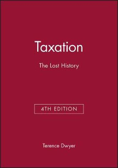 Taxation - Terence Dwyer