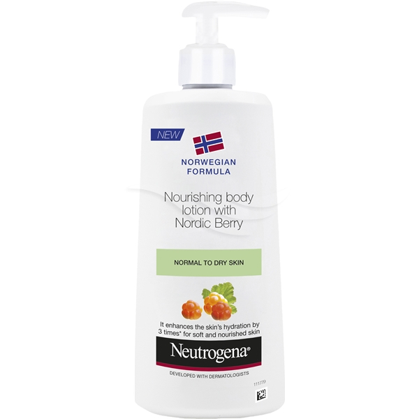 Norwegian Formula Nordic Berry Body Lotion - Neutrogena