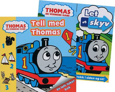 Thomas: let og skyv + Tell med Thomas -