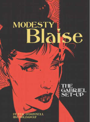 Modesty Blaise - the Gabriel Set-Up - Peter O'Donnell