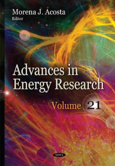 Advances in Energy Research - Morena J Acosta