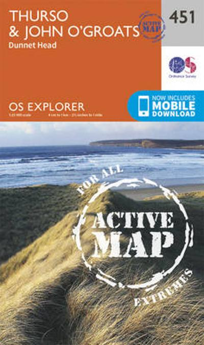 Thurso and John O'Groats - Ordnance Survey