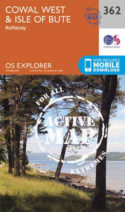 Cowal West and Isle of Bute - Ordnance Survey