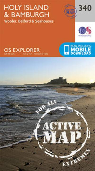 Holy Island and Bamburgh - Ordnance Survey