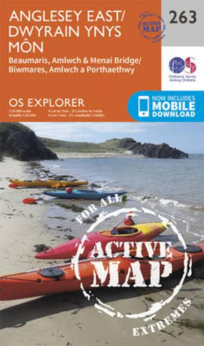 Anglesey East - Ordnance Survey