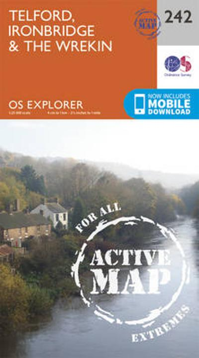 Telford, Ironbridge and the Wrekin - Ordnance Survey
