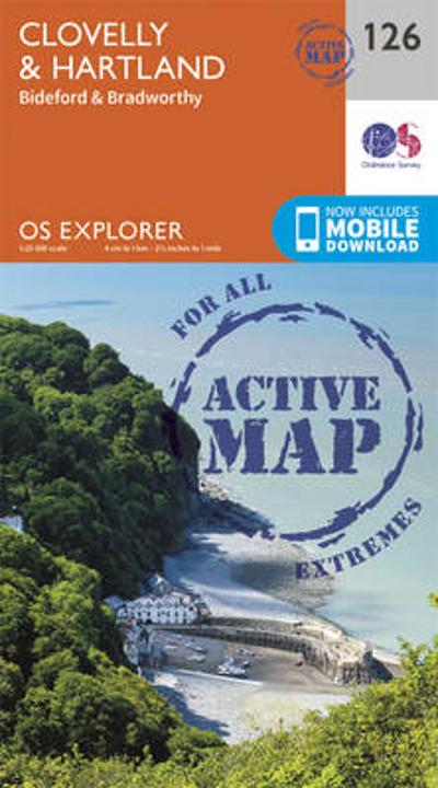 Clovelly and Hartland - Ordnance Survey