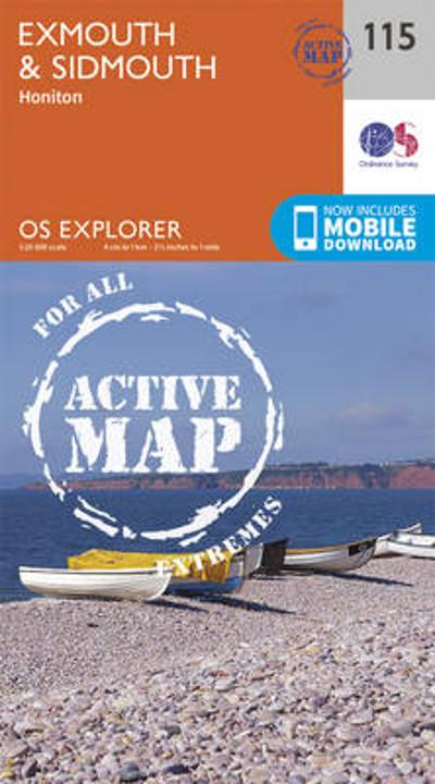 Exmouth and Sidmouth - Ordnance Survey