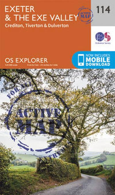 Exeter and the Exe Valley - Ordnance Survey