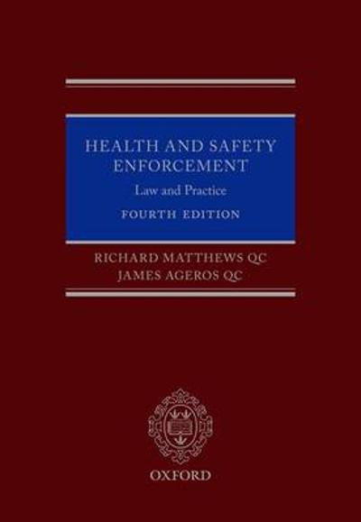 Health and Safety Enforcement - Richard Matthews QC