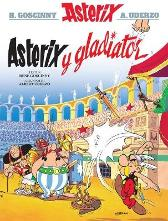 Asterix y Gladiator - Rene Goscinny Albert Uderzo Alun Ceri Jones