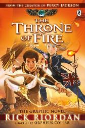 The Throne of Fire: The Graphic Novel (The Kane Chronicles Book 2) - Rick Riordan