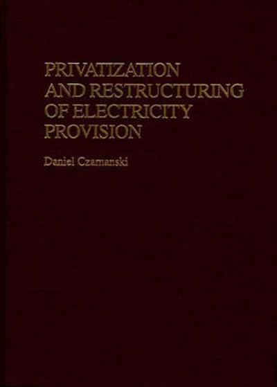 Privatization and Restructuring of Electricity Provision - Daniel Czamanski