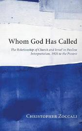 Whom God Has Called - Christopher Zoccali