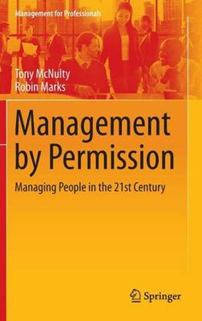 Management by Permission - Tony McNulty