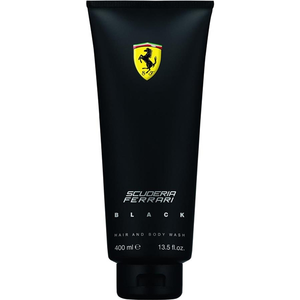 Scuderia Ferrari Black - Hair & Body Wash - Ferrari