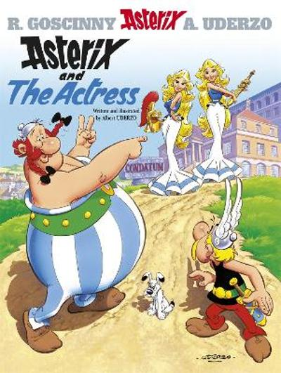 Asterix: Asterix And The Actress - Albert Uderzo