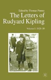 The The Letters of Rudyard Kipling - T. Pinney