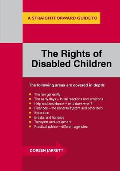 A Straighforward Guide To The Rights Of Disabled Children - Doreen Jarrett