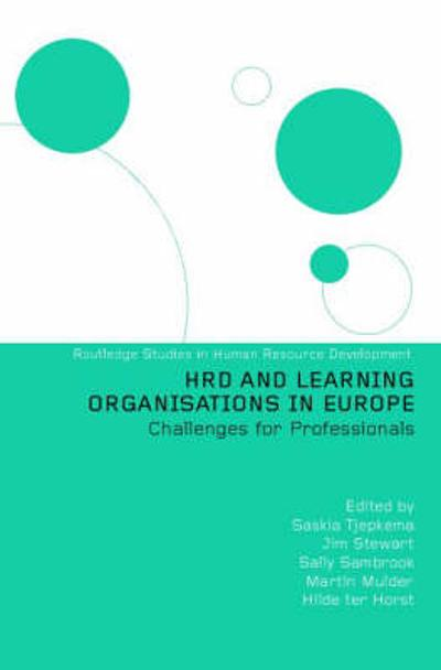 HRD and Learning Organisations in Europe - Saskia Tjepkema