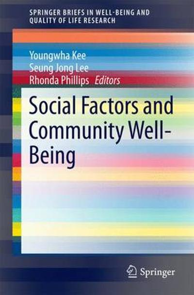 Social Factors and Community Well-Being - Youngwha Kee