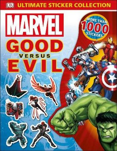 Marvel Good vs Evil Ultimate Sticker Collection - DK