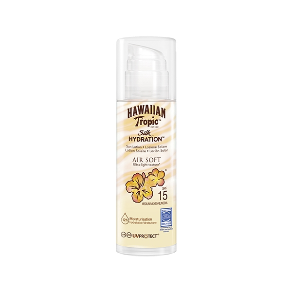 Silk Hydration Air Soft Pump Sun Lotion SPF 15 - Hawaiian Tropic