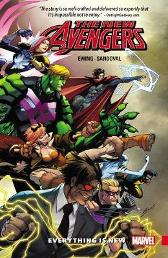New Avengers: A.i.m. Vol. 1 - Everything Is New - Al Ewing Gerardo Sandoval