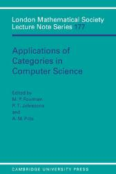 Applications of Categories in Computer Science - M. P. Fourman P. T. Johnstone A. M. Pitts