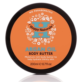 Argan Oil Body Butter - Happy Naturals