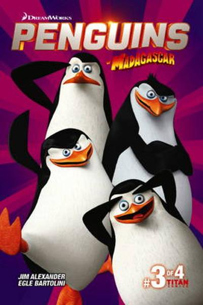 Penguins of Madagascar - Titan Comics